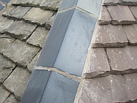 St Arvans roof ridge tiles