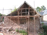 Gable end reconstruction